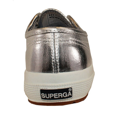 Superga Trainers - Classic Metallic - Silver