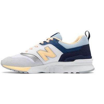 New Balance Ladies Trainers - CW997HBB - White/Navy/Blue