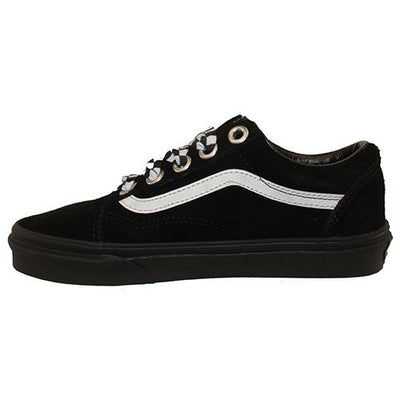 Vans Classic Skate Trainer - Old Skool - Black/Checkered Lace