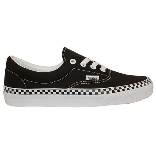 Vans Classic Skate Shoe  - Check Foxing Era  - Black