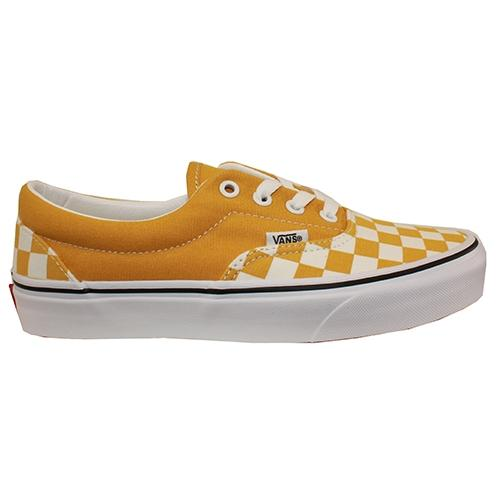 Vans Classic Skate Shoes  - Era Checkboard - Yellow