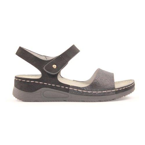 Redz  Wedge Sandals - B18 - Black