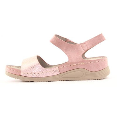 Redz  Wedge Sandals - B18 - Pink