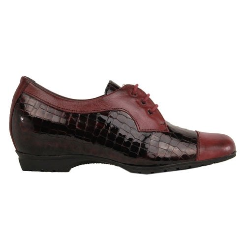 Pitillos Wedge Shoes - 3953 - Burgundy