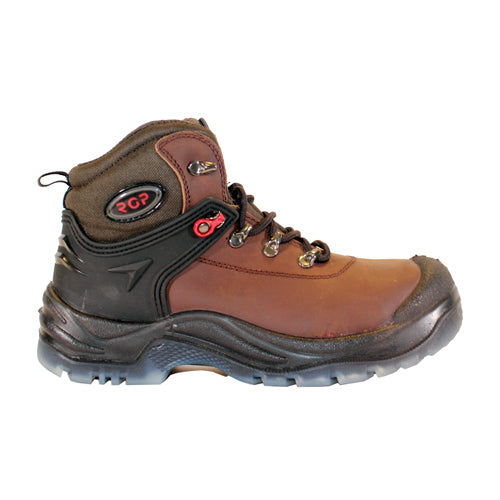 PM Mans Steel Top Cap Boot - PD1422 - Brown