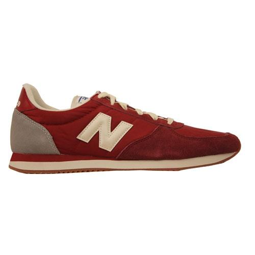 New Balance Mens Trainers - U220HI - Burgundy