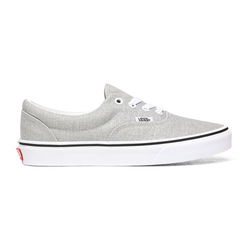 Vans Laced Trainer - Era Retro - Silver