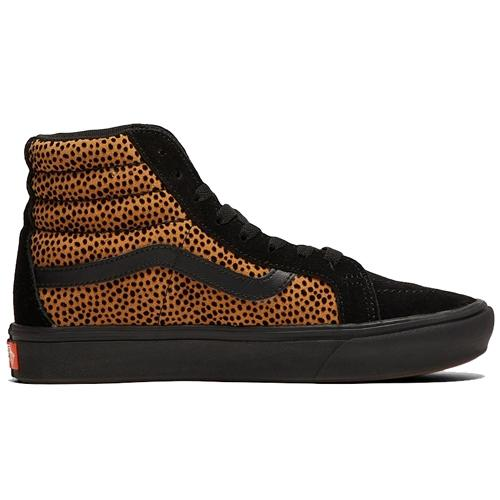 Vans Hi Top Sneakers  - Sk8-Hi Reissue - Black/ Cheetah