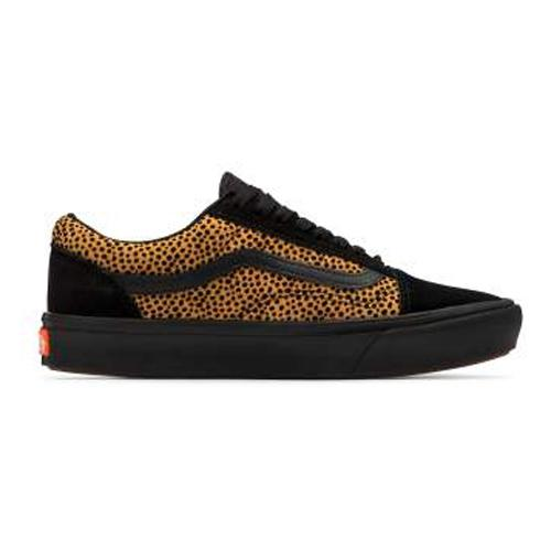 Vans  Skate Shoes - Era Comfy Cush- Black/Cheetah