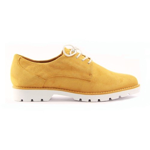 Jana Flat Shoe - 23750-24 - Yellow