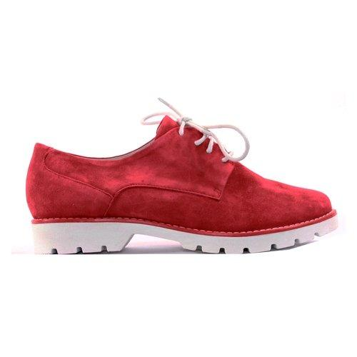 Jana Flat Shoe - 23750-24 - Red