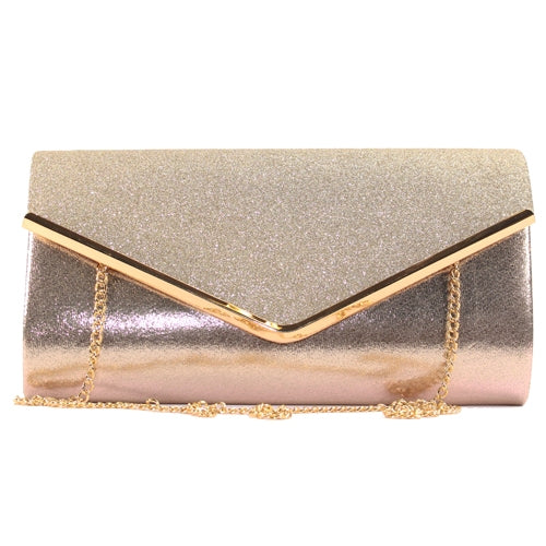 Glamour Clutch Bag - Celine - Gold