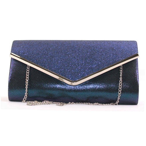 Glamour Clutch Bag - Celine - Navy