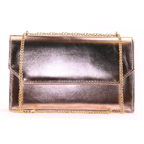 Glamour Clutch Bag - Clara - Rose Gold