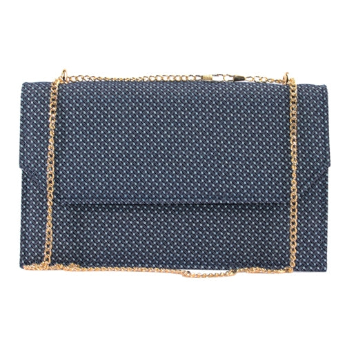 Glamour Clutch Bag - Clara - Navy