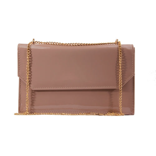 Glamour Clutch Bag - Courtney - Nude