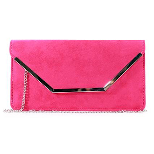 Glamour Clutch Bag - Abi - Pink
