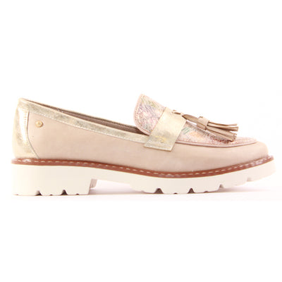 Zanni Ladies Flat Shoe - Bastam - Pink