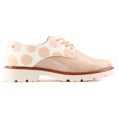 Zanni Ladies Flat Shoe - Hebron - Pink