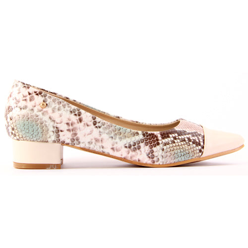 Zanni Ladies Dressy Court Shoe - Rehou - Pink