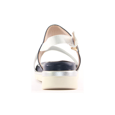 Zanni Ladies Wedge Sandal - Terqa - Navy