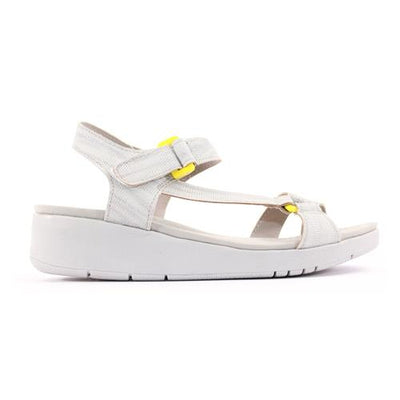 Zanni Ladies Flat Sandal  - Marlik - Yellow