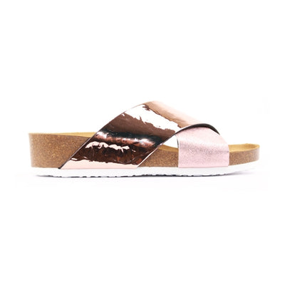 Ara Flat Sandal - 17278 - Rose Gold