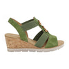 Gabor Wedge Sandals - 45.750 - Green
