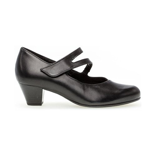 Gabor Wide Fit Pumps - 46.146-57 - Black