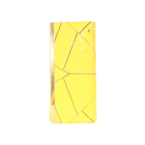 Una Healy Clutch Bag - Wild One - Laser Lemon Yellow