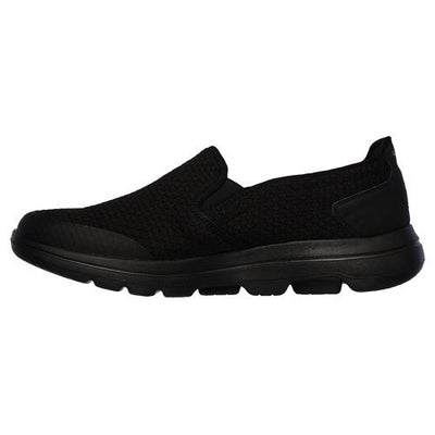 Skechers Slip On Trainers -  55510 - Black/Black