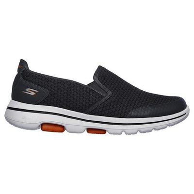 Skechers Mans Slip On Trainers - 55510 - Charcoal