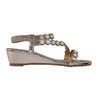 Redz Wedge Sandal - A555-7 - Gold
