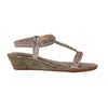 Redz  Low Wedge Sandals - 2007-22 - Gold