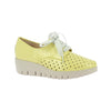 Wonders Wedge Shoe - C-33210 - Yellow