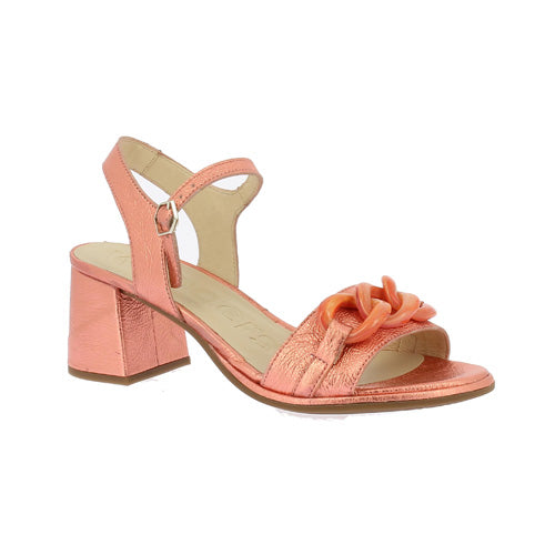 Wonders Dressy Court Shoe - F-7201 - Coral