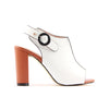 Kate Appleby Sling Back Heels - Cheshire - White