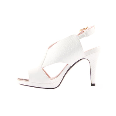 Kate Appleby Sling Back Heels - Chapman - White