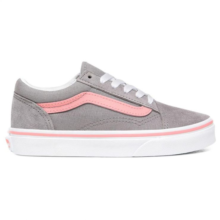 Vans Junior - Old Skool - Grey/Pink