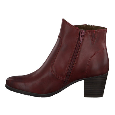 Jana Ankle Boots - 25366-25 - Red