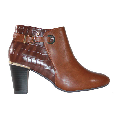 Kate Appleby Ankle Boots - Drumbeg - Tan