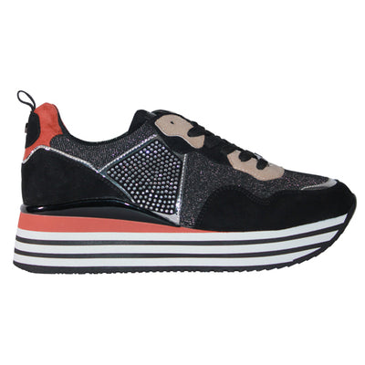Tommy Bowe Ladies Trainers - Short - Black