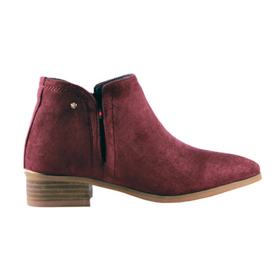 Escape Ankle Boots - Arlington - Burgundy
