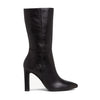 Tamaris Leather Midi Boots - 25390-25 - Black