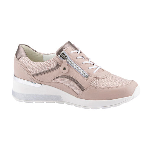 Waldlaufer Wide Fit Trainers - 939011 - Nude