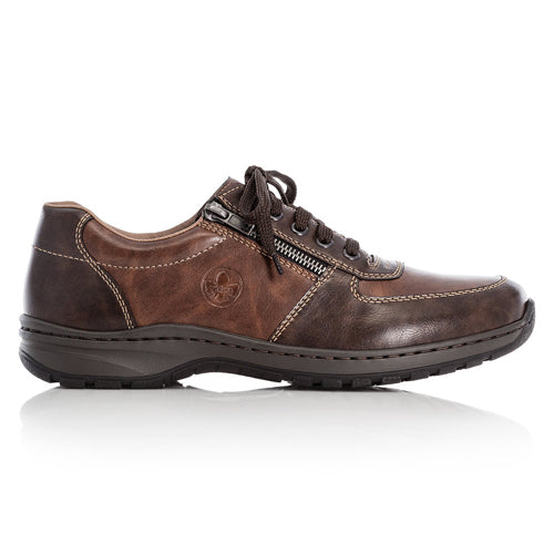 Rieker Extra Wide Casual Shoes - 03329-25 - Brown