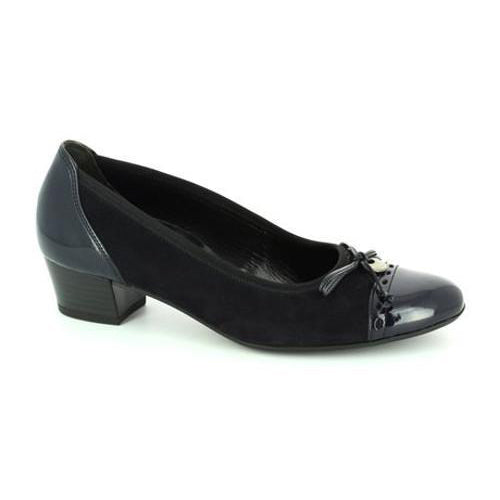 Gabor  Low Heeled Pumps - 62.203 - Navy