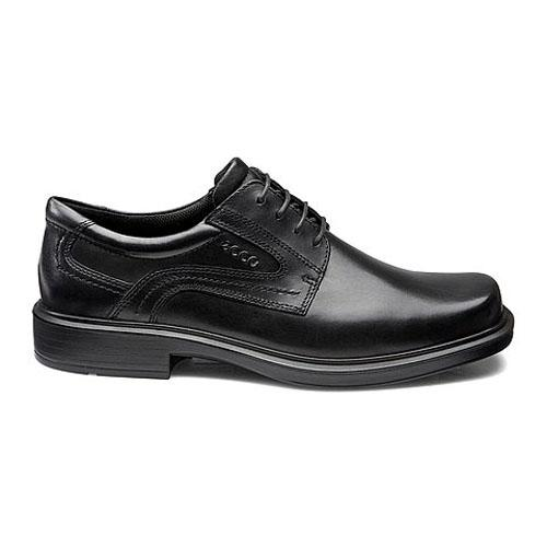 Ecco Lace Up Leather Shoe - 50144 - Black