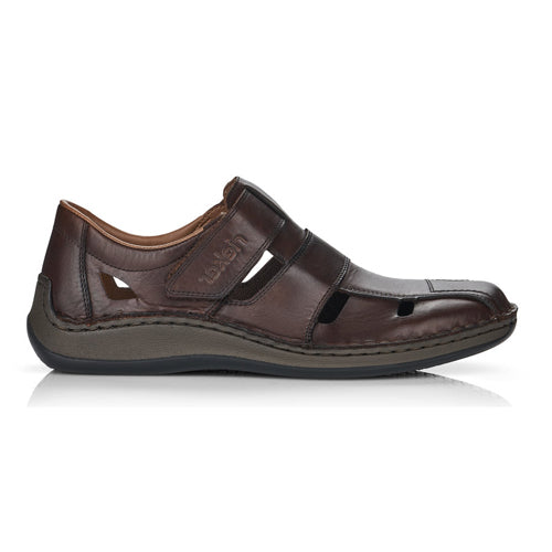 Rieker Men's Sandal- Shoes - 05269-25 - Brown