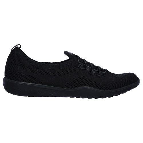 Skechers Trainers - 100033- Black/Black